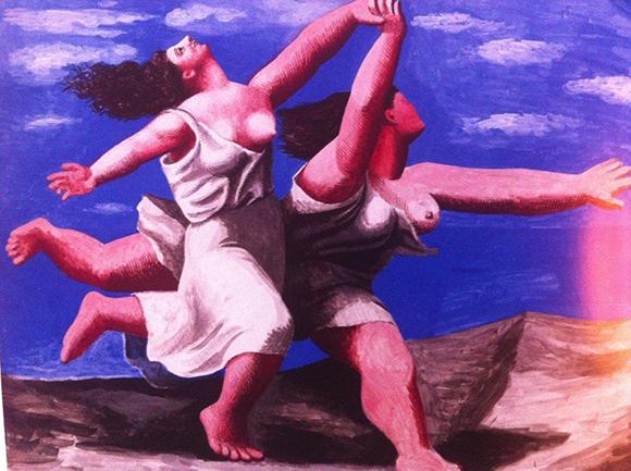 Alla mostra di Pablo Picasso