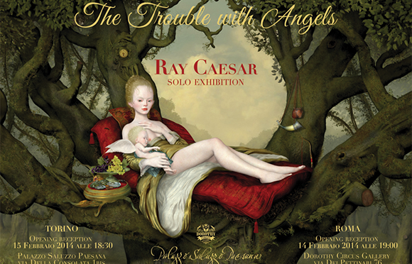 Ray Caesar in mostra a Torino