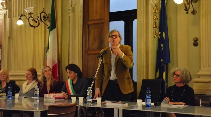 Serata charity e crowdfunding. Con Vittorio Sgarbi a Casale Monferrato.