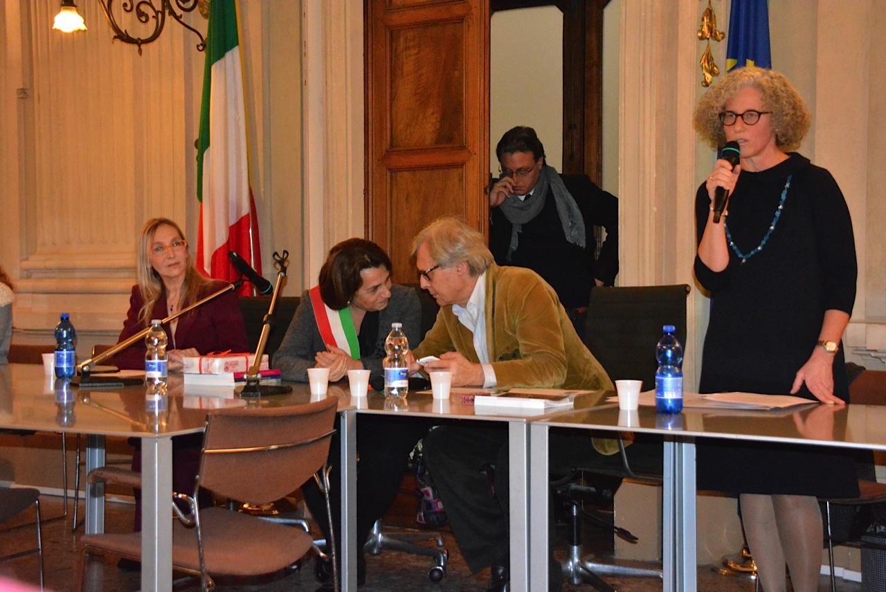 Presentando la piattaforma di Innamorati della Cultura a casale Monferrato