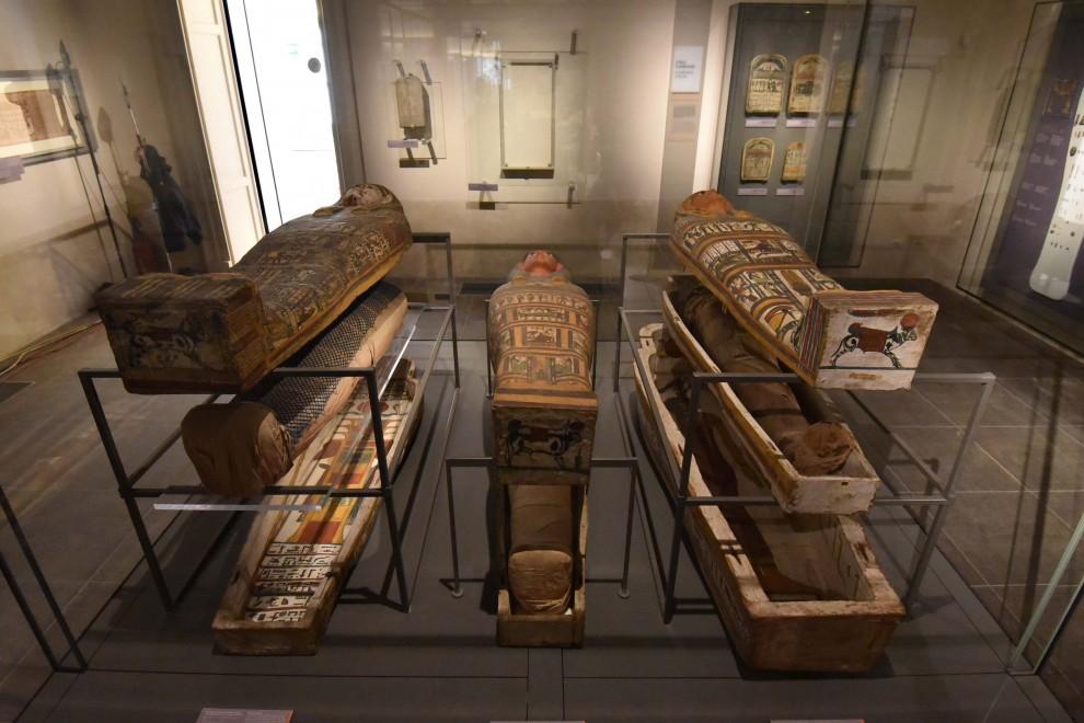 Le mummie del museo egizio sono molte di più di quelle che vengono esposte