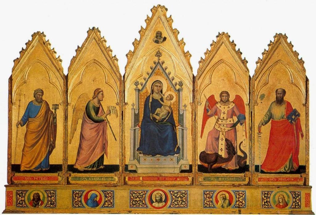 grandiosità dell'arte di Giotto