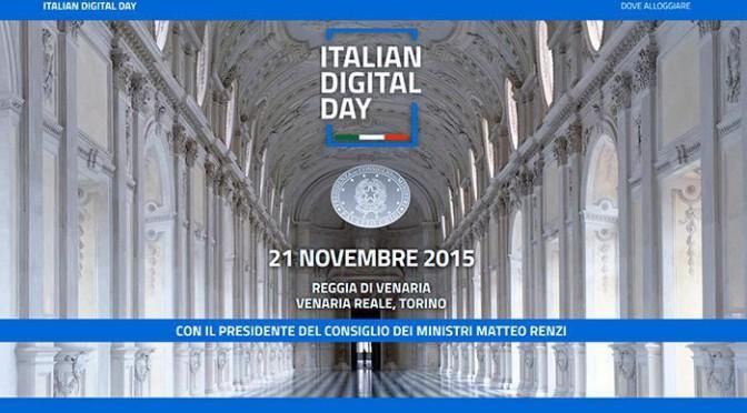 L'Italia può diventare il paese più smart del mondo. Alla Reggia di Venaria l'Italian Digital Day. A che punto è il digitale nel nostro paese?