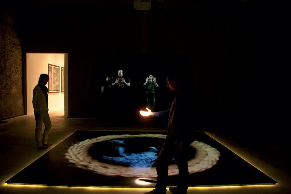 Studio Azzurro. installazione multimediale