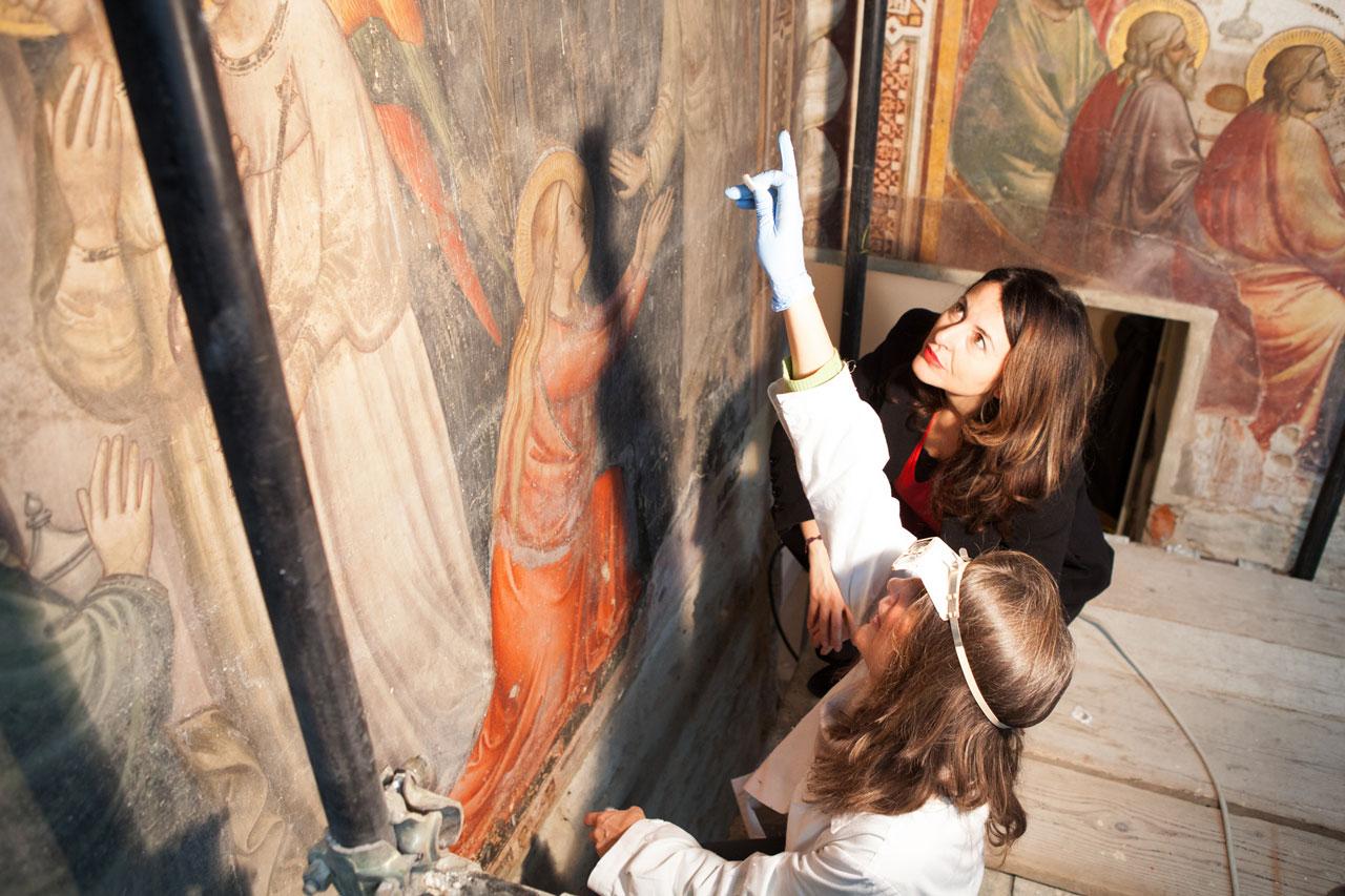 Il restauro è donna?