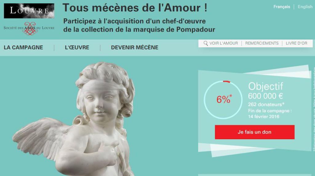 Crowdfunding del Museo del Louvre